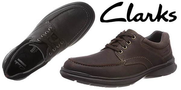 Clarks Cotrell Edge zapatos casuales para hombre baratos