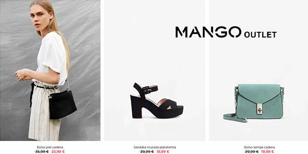 complementos de verano para mujer en Mango Outlet con grandes descuentos