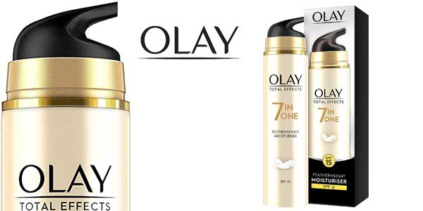 Olay Total Effects Crema Hidratante Antiarrugas 7 en 1 de 50ml barata en Amazon