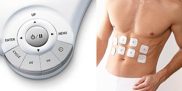 electroestimulador Beurer EM80 con programas de masaje y electrodos chollo