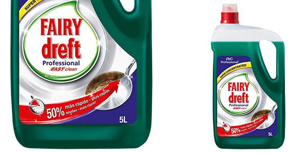 Fairy Professional Fast Clean lavavajillas de 5 litros barato
