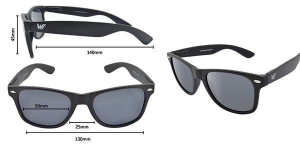Gafas de sol unisex Whcreat Wayfarer polarizadas al mejor precio en Amazon