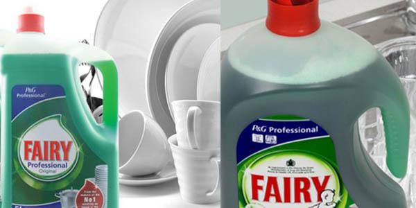garrafa Fairy Professional Fast Clean 5 litros chollo