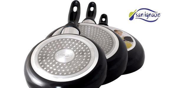 Juego de sartenes y batería de cocina San Ignacio de 8 piezas chollo en eBay