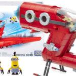 Juego de construcción Mega Blocks Minions Jet del Súper Malvado Mattel CNF60-9964 barato en Amazon