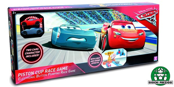Juego de la copa piston de Disney Cars (Giochi Preziosi CA100105) chollazo en Amazon