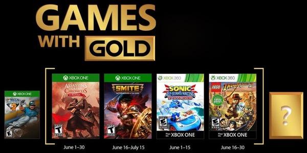 Juegos Gratis Con Gold En Junio 2018 Para Xbox One