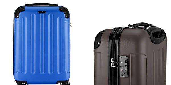maleta de mano de gran capacidad cómoda relación calidad-precio