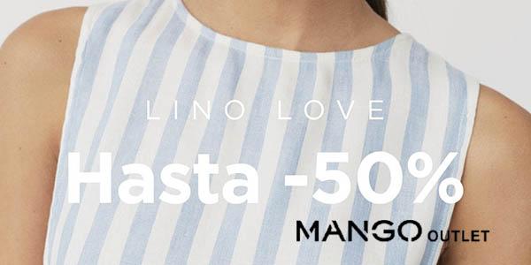 Mango Outlet ofertas en ropa de lino mayo 2018