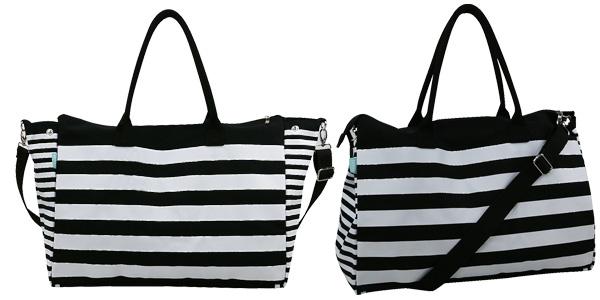 Maxi bolso bandolera en lona ideal para viaje o playa barato en Amazon