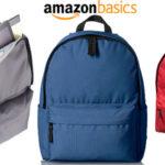 Mochila AmazonBasics de estilo clásico en varios modelos barata