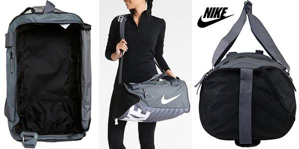 Bolsa de deporte Nike Alpha Adapt Cross Body gris rebajada