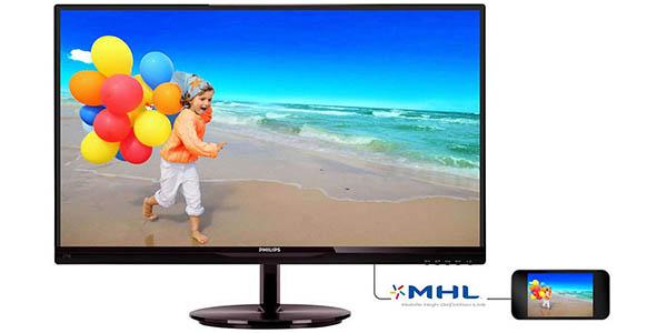 """Monitor Philips 274E5QHSB SmartImage Lite de 27"""" Full HD barato"""