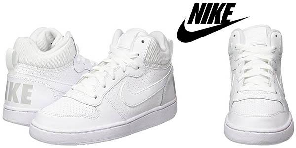 Nike Court Borough Mid GS zapatillas infantiles baratas