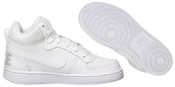 Nike Court Borough Mid GS zapatillas para niñ@s en oferta
