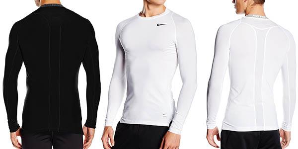 Nike Pro camiseta de compresión de manga larga barata