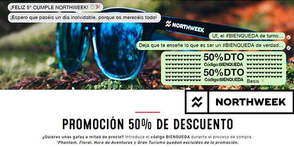 601ff3ad9b 50% descuento con código BIENQUEDA en gafas de sol Northweek por su ...