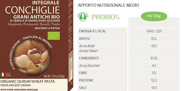 Pack de 10 Paquetes de Probios Pasta de Sémola de Trigo Duro Antiguo chollo en Amazon