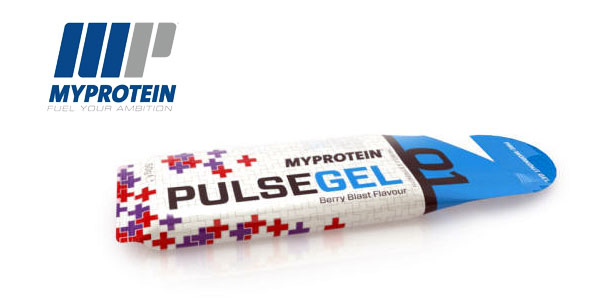 Pack 12 unidades de Gel Pre-Entrenamiento MyProtein Sabor Tormenta Tropical chollo en Amazon