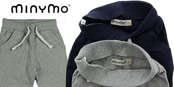 Pack de 2 pantalones de chandal infantiles Minymo chollazo en Amazon