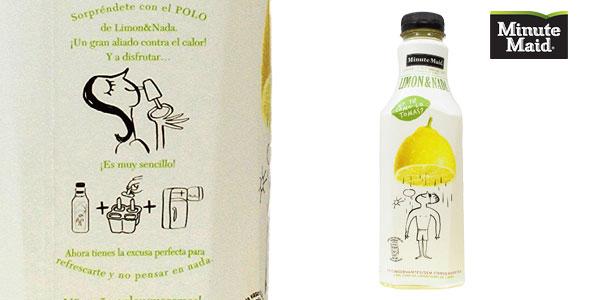 Pack de 6 botellas Minute Maid Limon&Nada chollo en Amazon