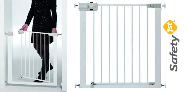 0d2afb0df89c Barrera puerta de seguridad Safety 1st Easy Close para niños y mascotas  barata en Amazon