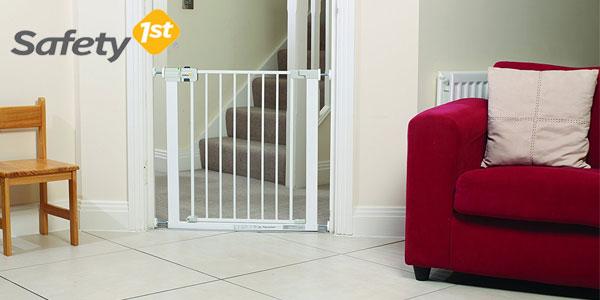 Barrera puerta de seguridad Safety 1st Easy Close para niños y mascotas chollo en Amazon