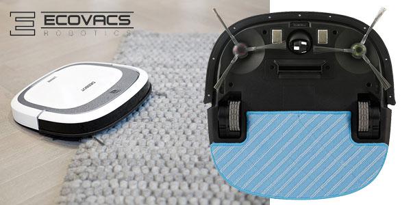 Robot aspirador Ecovacs Robotics Deebot Slim2 ultrafino, preparado para pelo de mascotas chollazo en Amazon
