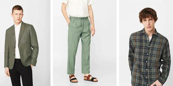 ropa de lino temporada primavera-verano Mango Outlet chollos
