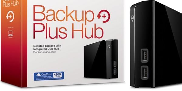 Disco duro externo Seagate Backup Plus Hub de 8TB