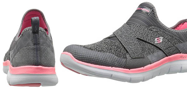 Skechers Flex Appeal 2.0-New Image zapatillas sin cordones cómodas chollo