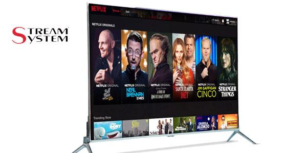 """Smart TV """"low cost"""" Stream System Bm4392 de 43"""" con Apps de Youtube, Netflix, HBO barata en eBay"""