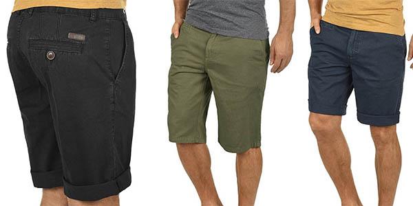 Solid Viseu pantalón chino para hombre barato
