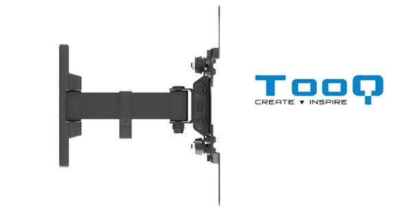 """Soporte de pared orientable TooQ LP2042TNL-B para televisores entre las 13 y 42"""" chollazo en Amazon"""