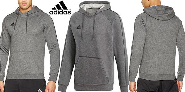 Chollo Sudadera Adidas Core 18 Hoody para hombre por sólo 22 3945d4fb6f3