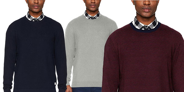 Suéter Jack & Jones Jornash Knit Crew Neck chollo en Amazon