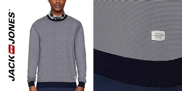 Suéter Jack & Jones Jornash Knit Crew Neck chollazo en Amazon