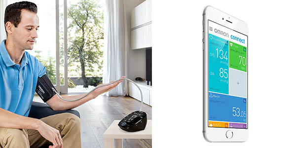 tensiómetro Omron MIT5s Connect de genial relación calidad-precio