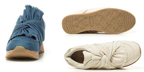 zapatillas casuales Chika10 con plataforma y diseño original chollo