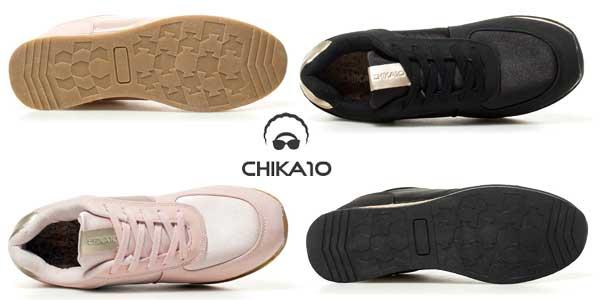 Zapatillas Chika10 New Saray 03 en color negro chollo en eBay