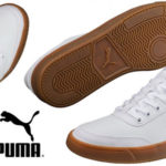Zapatillas Puma Court Breaker unisex de color blanco para adulto baratas