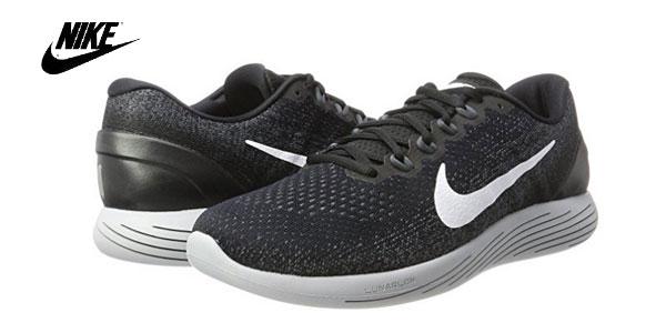 Zapatillas Running Nike Lunarglide 9 en color negro para hombre baratas en  Amazon 9f7a67ea2672d