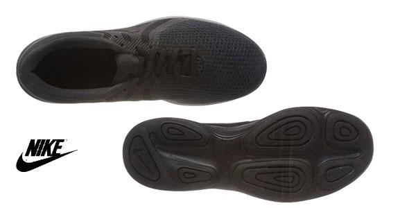 Zapatillas running Nike Wmns Revolution 4 EU en color negro para mujer chollazo en Amazon