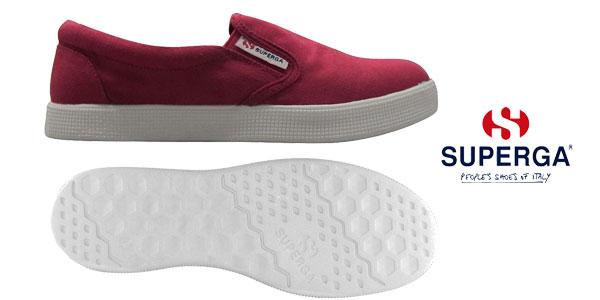 Zapatillas sin cordones Superga Mocassini Slip On 4498 en varios colores para mujer chollo en eBay