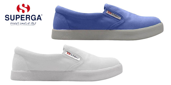 Zapatillas sin cordones Superga Mocassini Slip On 4498 en varios colores para mujer baratas en eBay