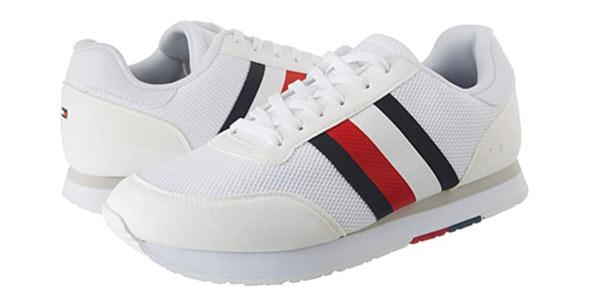 Zapatillas Tommy Hilfiger Corporate Material Mix Runner baratas en Amazon
