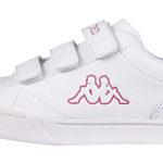 Zapatillas unisex Kappa Court en color blanco y rojo para niñ@s baratas en Amazon