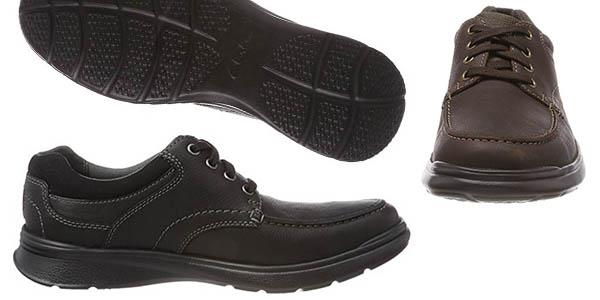 zapatos Clarks Cotrell Edge con plantilla acolchada en oferta