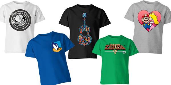 Zavvi promoción camisetas para niñ@s baratas