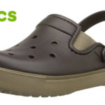 Zuecos unisex Crocs Citilane Clog en color marrón baratos en Amazon